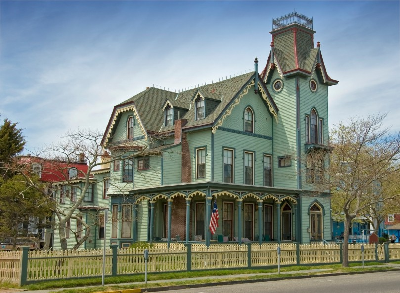 victorian house. of a Victorian home.