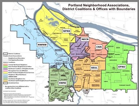 Portland Neighborhood Associations